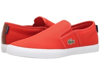 Lacoste Gazon Sport Sep Red Red Men's Shoes