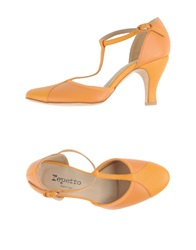 Repetto Pumps Ocher
