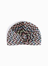 Missoni Women S Zigzag Stripe Turban Boutique1 Black