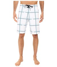 Quiksilver Electric 21 Boardshorts White Men's Swimwear