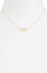 Kendra Scott 'Elisa' Pendant Necklace Iridescent