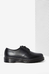 Nasty Gal Dr. Martens 1461 3 Tie Leather Shoe Black