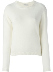 Cacharel Cropped Jumper Nude And Neutrals