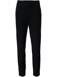 Lafayette 148 New York High Waisted Trousers Black