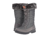Kamik Yonkers Charcoal Women's Cold Weather Boots Gray