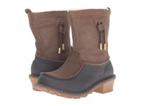 Woolrich Fully Wooly Slip Java Tin Pan Women's Boots Brown