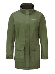 Craghoppers Madigan Iii Long Waterproof Jacket Green