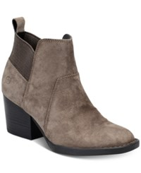 Born Garcia Ankle Booties Women's Shoes Grey