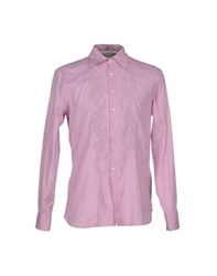 Ermanno Scervino Scervino Street Shirts Shirts Men Light Purple