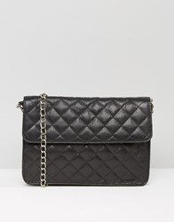 Urbancode Quilted Leather Bag Black