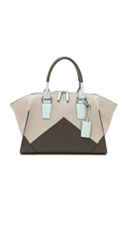Narciso Rodriguez Claire Zip Tote Stone
