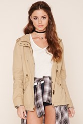 Forever 21 Button Front Utility Jacket