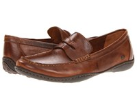 Born Simon Cymbal Full Grain Leather Men's Slip On Shoes Brown