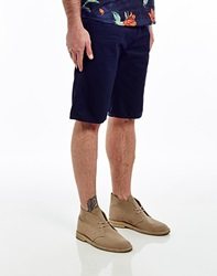 Carhartt Skill Shorts In Duke Blue Rinse