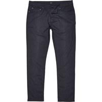 River Island Mens Navy Five Pocket Slim Fit Trousers