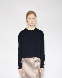 Acne Studios Misty Clean Pullover Dark Blue