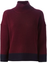 Marni Turtle Neck Sweater Red
