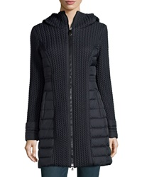 Post Card Mesa Cable Quilted Puffer Coat