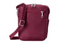 Pacsafe Citysafe Cs75 Anti Theft Crossbody Travel Bag Cranberry Cross Body Handbags Red