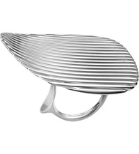 Georg Jensen Lamellae Collection Sterling Silver Ring