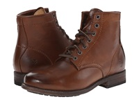 Frye Tyler Lace Up Cognac Soft Vintage Leather Women's Lace Up Boots Brown