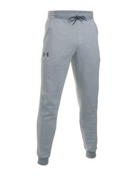 Under Armour Ua Rival Fleece Patterned Jogger Pants Steel