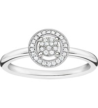 Thomas Sabo Glam And Soul Sterling Silver Diamond Ring