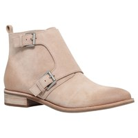 Michael Michael Kors Adams Monk Strap Ankle Boots Taupe Suede