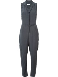 Equipment 'Adalyn' Jumpsuit Blue