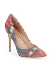 Charles By Charles David Pact Stiletto Pumps Pink Tye Dye
