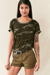 Bdg Harper Soft Cargo Short Green