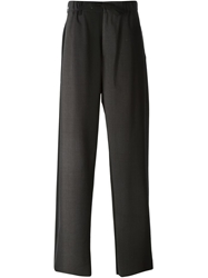 Issey Miyake Men Wide Leg Faded Trousers Grey