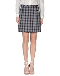 Fred Perry Skirts Mini Skirts Women Grey