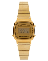 Casio Mini Digital Watch La670wega 9Ef Gold