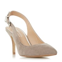 Head Over Heels Cissy Buckle Detail Open Court Shoes Taupe