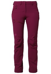 Jack Wolfskin Activate Trousers Wild Berry