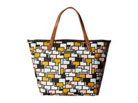 Petunia Pickle Bottom Glazed Downtown Tote Colorful Copacabana Tote Handbags Multi