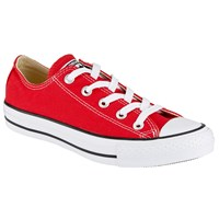Converse Chuck Taylor All Star Canvas Ox Low Top Trainers Red