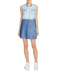 4Our Dreamers Dip Dye Chambray Dress Ombre