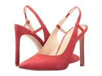 Nine West Tarly Red Suede Women's Shoes