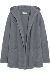 Chinti And Parker Hooded Merino Wool And Cashmere Blend Cardigan