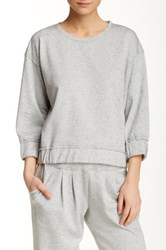 Central Park West The Ali Cropped Sweater Multi