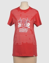 Madson Discount Short Sleeve T Shirts Red