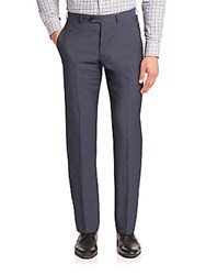 Giorgio Armani Virgin Wool Dress Pants Navy