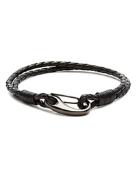 Babette Wasserman Demon Lobster Clasp Bracelet Black