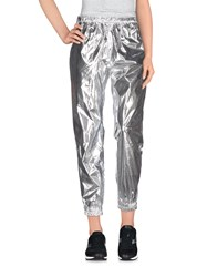 Marios Trousers Casual Trousers Women Silver