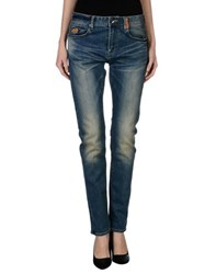 Superdry Denim Denim Trousers Women
