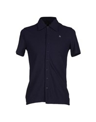 Aquascutum London Aquascutum Shirts Shirts Men Dark Blue
