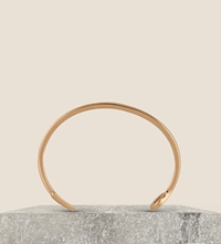 Miansai Fishing Hook Yellow Gold Plated Cuff