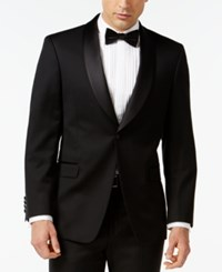 Tommy Hilfiger Shawl Collar Classic Fit Tuxedo Jacket Black